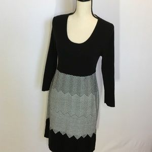 Sandra Darren long sleeve dress XL